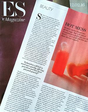 ES Magazine press